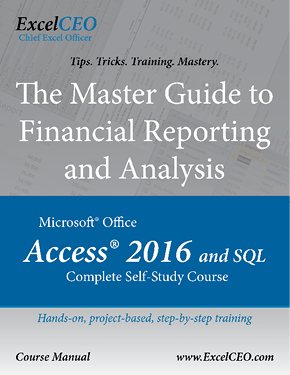 microsoft access 2016: the complete guide